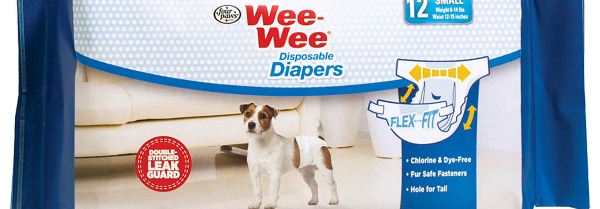Wee-Wee Disposable Diapers Small 12PK