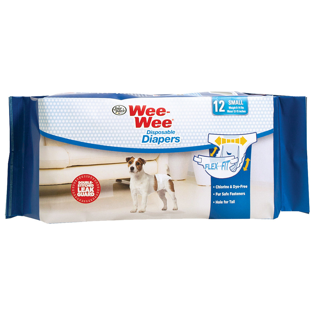 Wee-Wee Disposable Diapers Small 12PK-1
