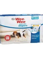Wee-Wee Wee-Wee Disposable Diapers Medium 12PK