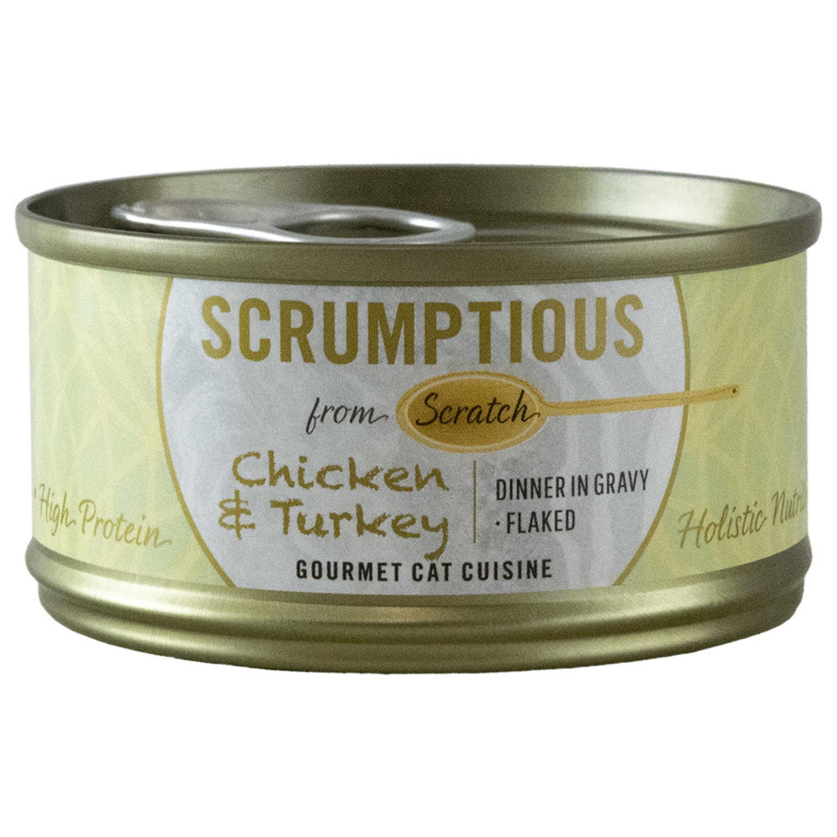 Scrumptious Chicken & Turkey 2.8OZ Cat