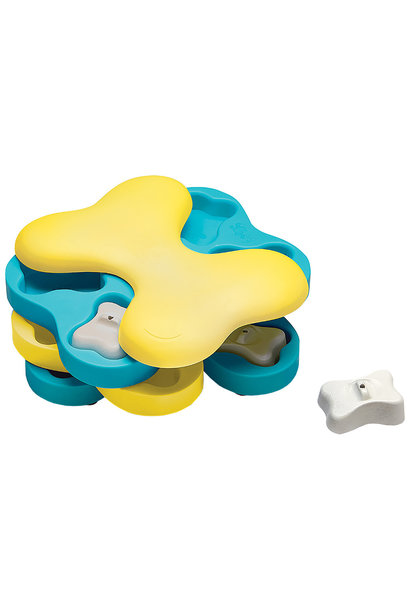 Dog Tornado Blue & Yellow Puzzle