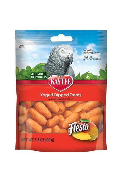 Fiesta Mango Yogurt Treat All Hookbills 3.5OZ