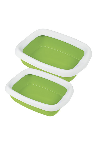 Beta Rimmed Litter Pan-Small
