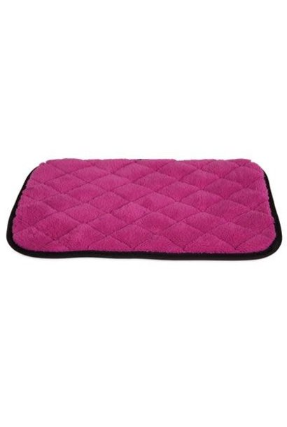 "Jackson Galaxy-Comfy Cat Napper Mat Pink 18""x14"""