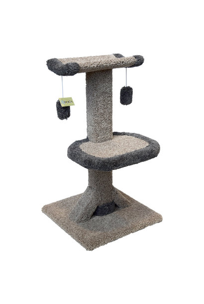 Cat Tree Kitty Cradle Deluxe 3' High Cat