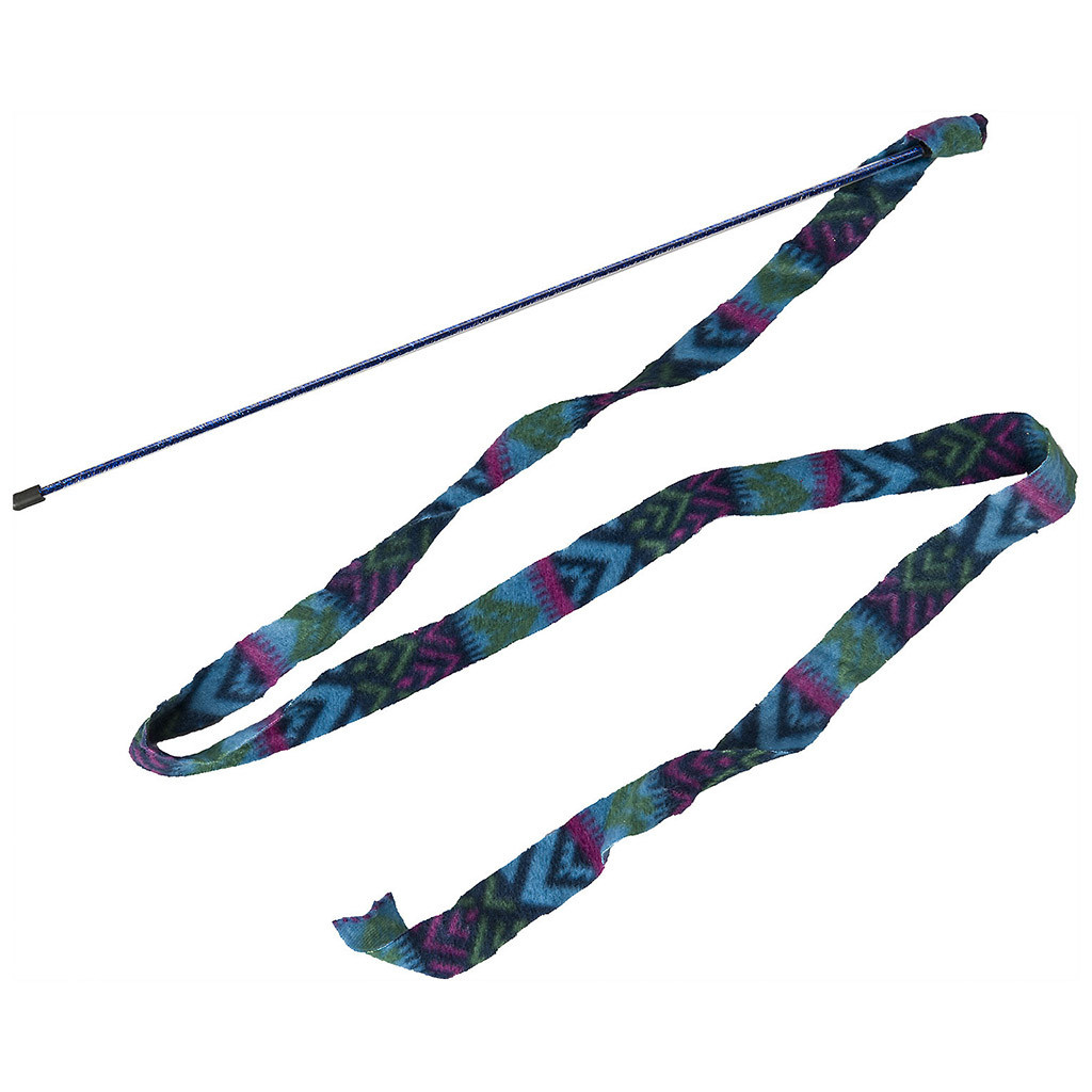 Prancer Fleece Frenzy Wand Assorted Cat-1