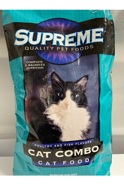 Supreme Cat Combo 40lb - Poultry & Fish