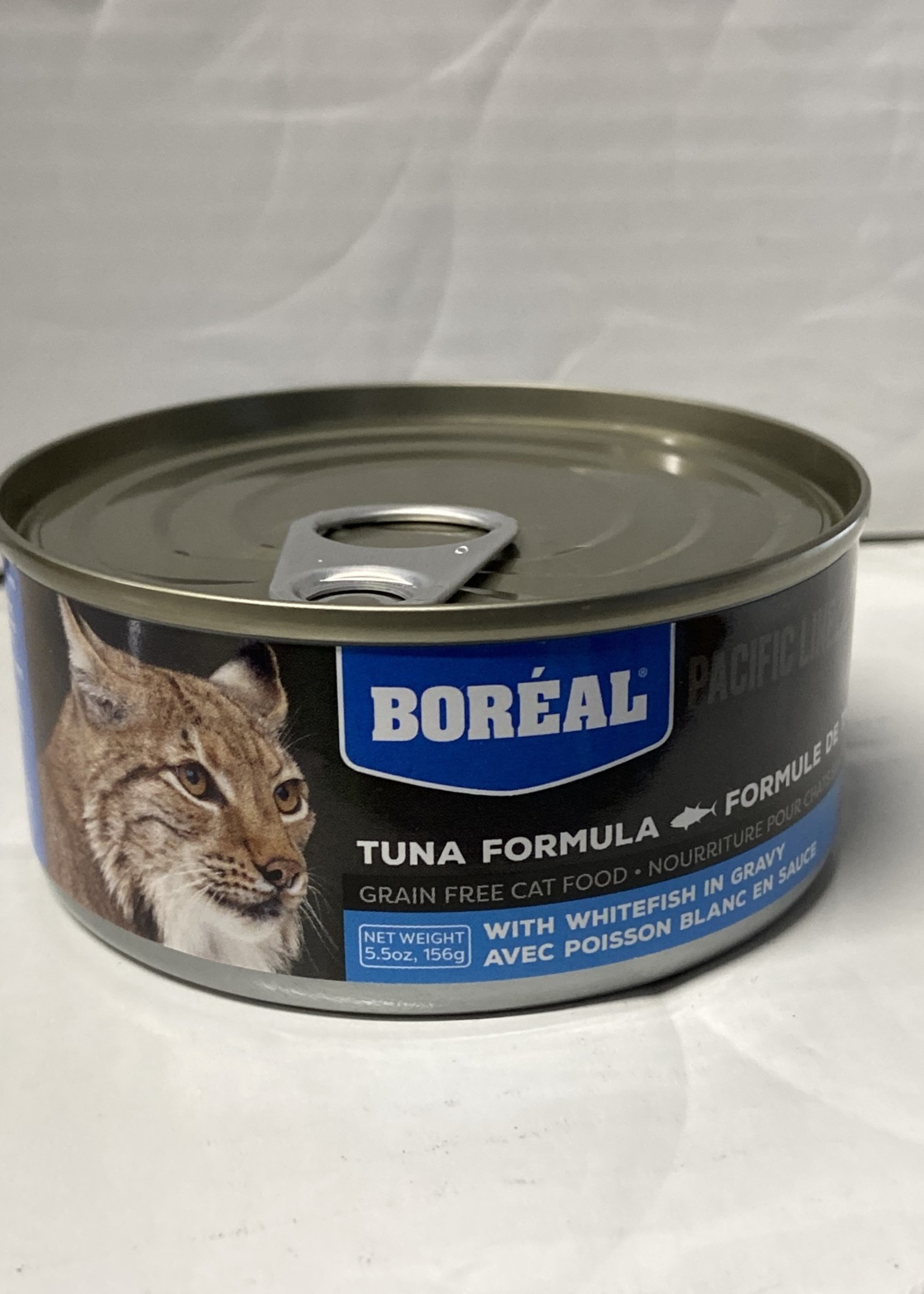 Boreal Boreal Cat-Tuna Red Meat w/ Whitefish 156g