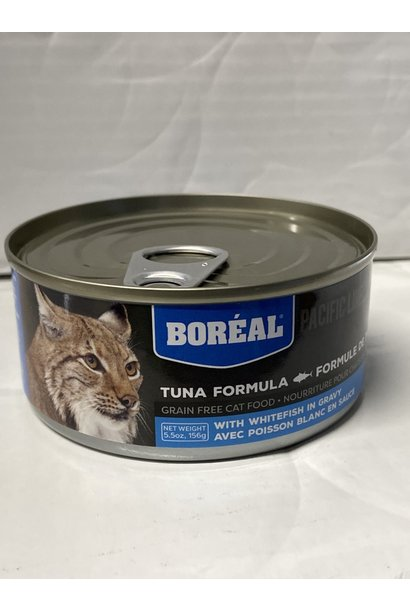 Boreal Cat-Tuna Red Meat w/ Whitefish 156g