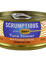 Scumptious Scrumptious Cat Food-Red Meat Tuna & Pumpkin 2.8OZ