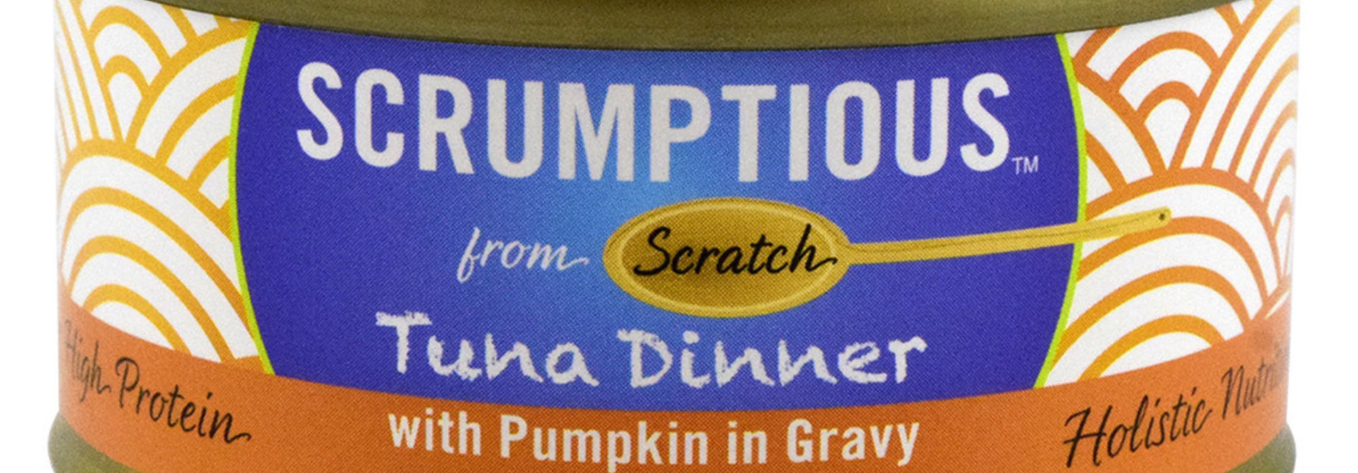 Scrumptious Cat Food-Red Meat Tuna & Pumpkin 2.8OZ