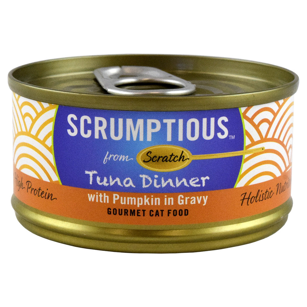 Scrumptious Cat Food-Red Meat Tuna & Pumpkin 2.8OZ-1