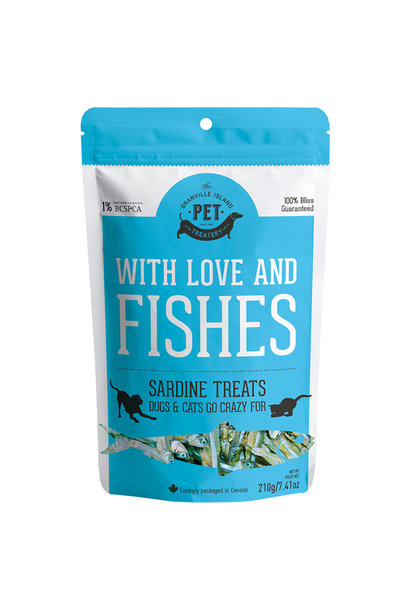 Granville Island With Love & Fishes Sardine Treats 210gm