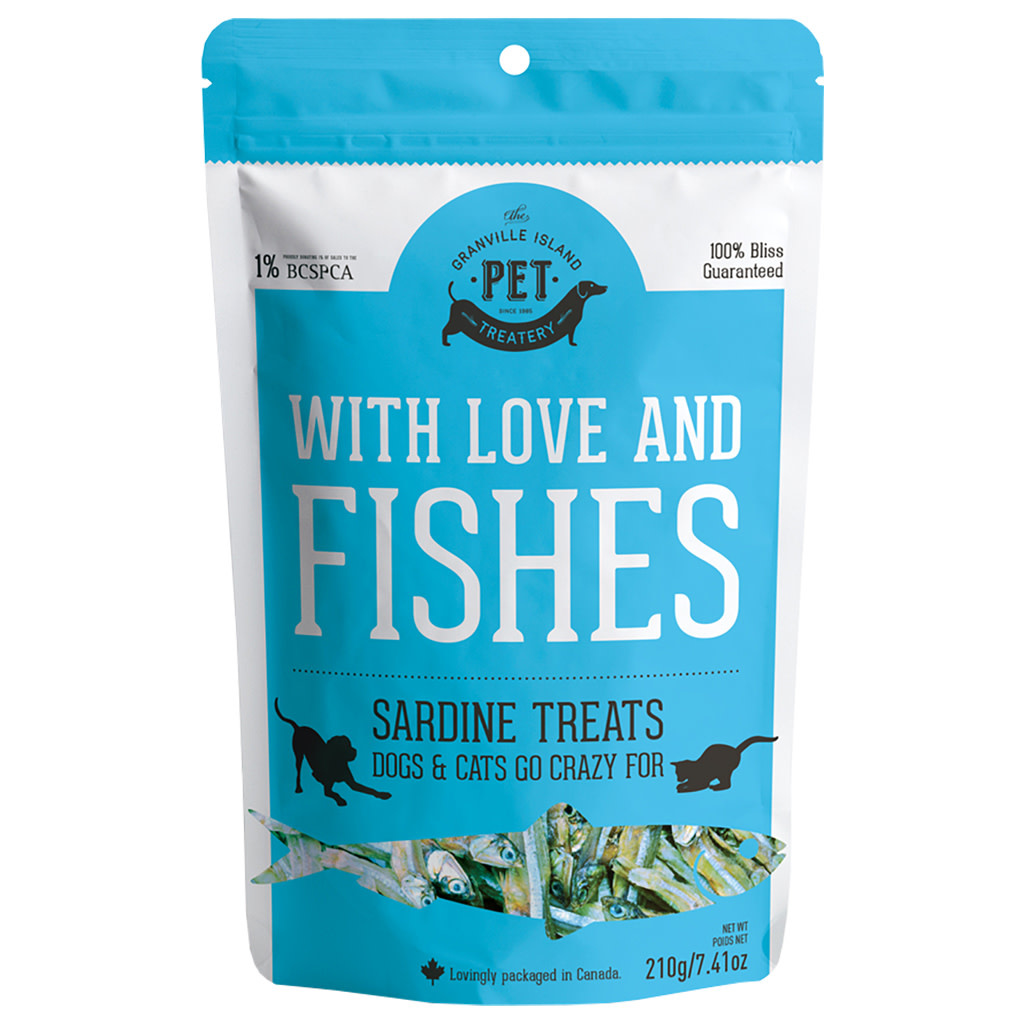 Granville Island With Love & Fishes Sardine Treats 210gm-1