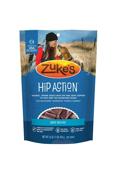 Zukes Hip Action Beef 14oz