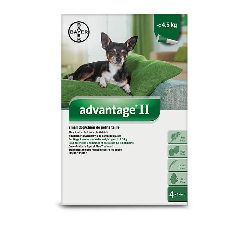 Advantage II- Small Dogs Under 4kg-1