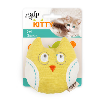 All For Paws Owl Cat Toy-1