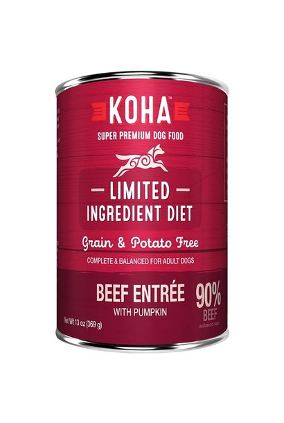 Koha Beef Pate Dog Food 13oz