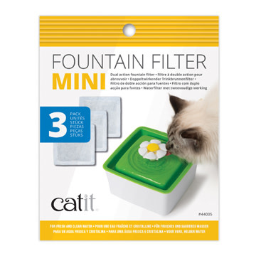 CatIt 2.0 Mini Fountain Replacement Filter 3pk-2