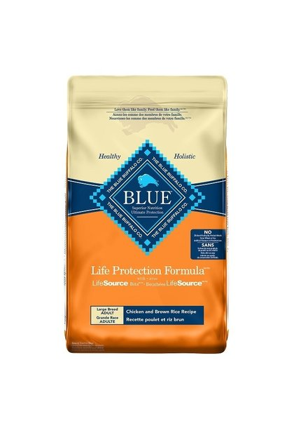 Blue LPF Large Breed Adult Chicken & Brown Rice 11.7kg