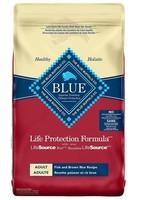 Blue Buffalo Blue Dog LPF Adult Fish & BnRice 26 lb