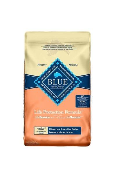 Blue Dog LPF Large Breed Puppy Ckn&BnRice 26 lb