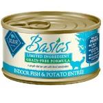 Blue Buffalo Blue Basics LID GF Cat Fish & Potato Entree 3 oz