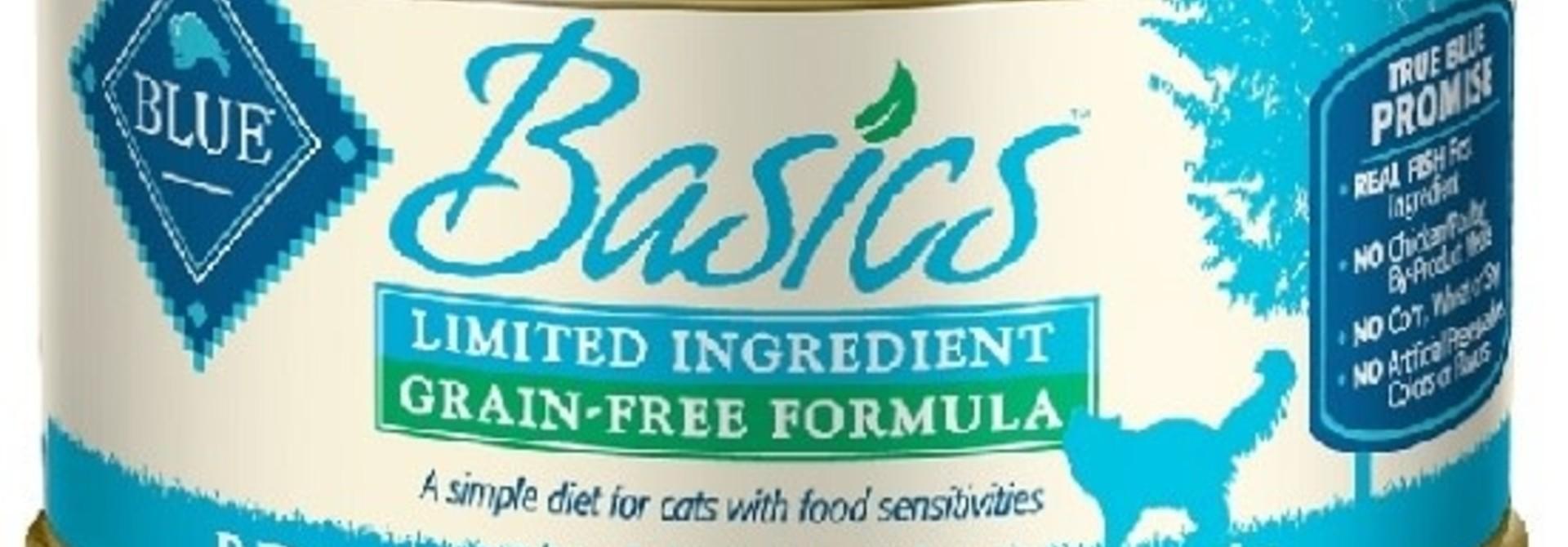 Blue Basics LID GF Cat Fish & Potato Entree 3 oz