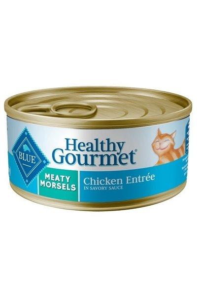 Blue Cat Meaty Morsels Chicken 3 oz