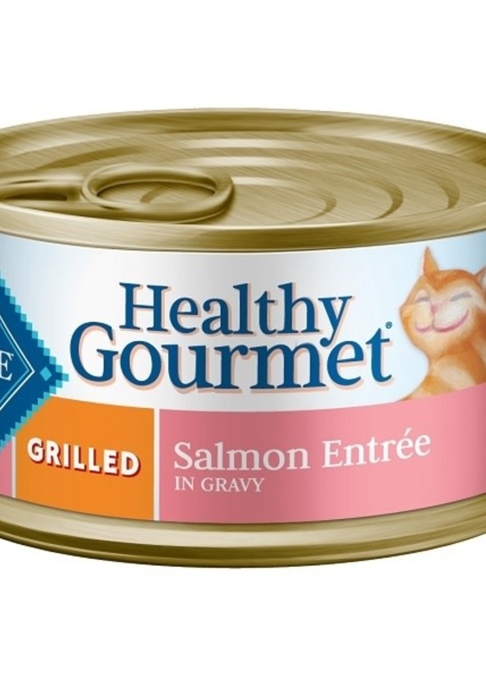 Blue Buffalo Blue-Cat-Canned Grilled Salmon 3oz