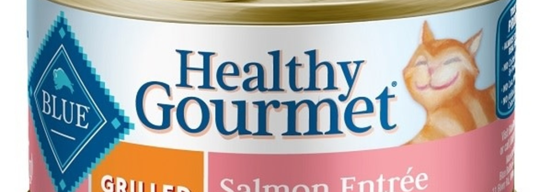 Blue-Cat-Canned Grilled Salmon 3oz