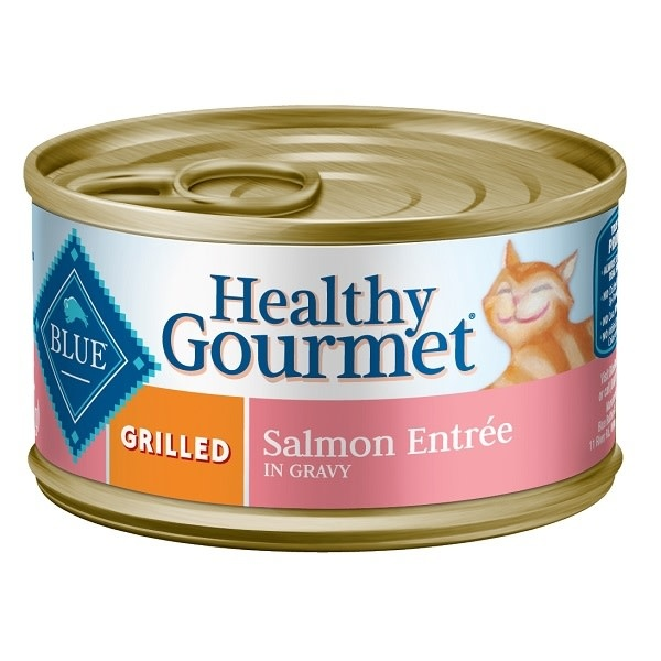 Blue-Cat-Canned Grilled Salmon 3oz-1