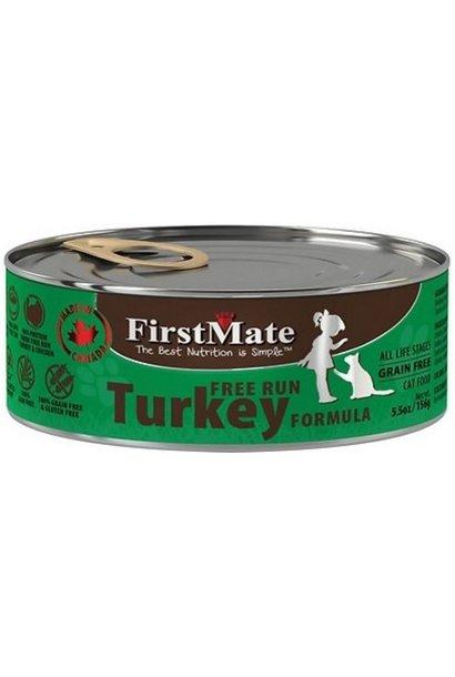 First Mate Free Run Turkey CAT-5.5oz