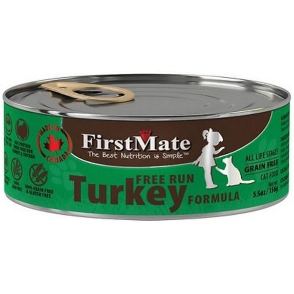 First Mate Free Run Turkey CAT-5.5oz-1