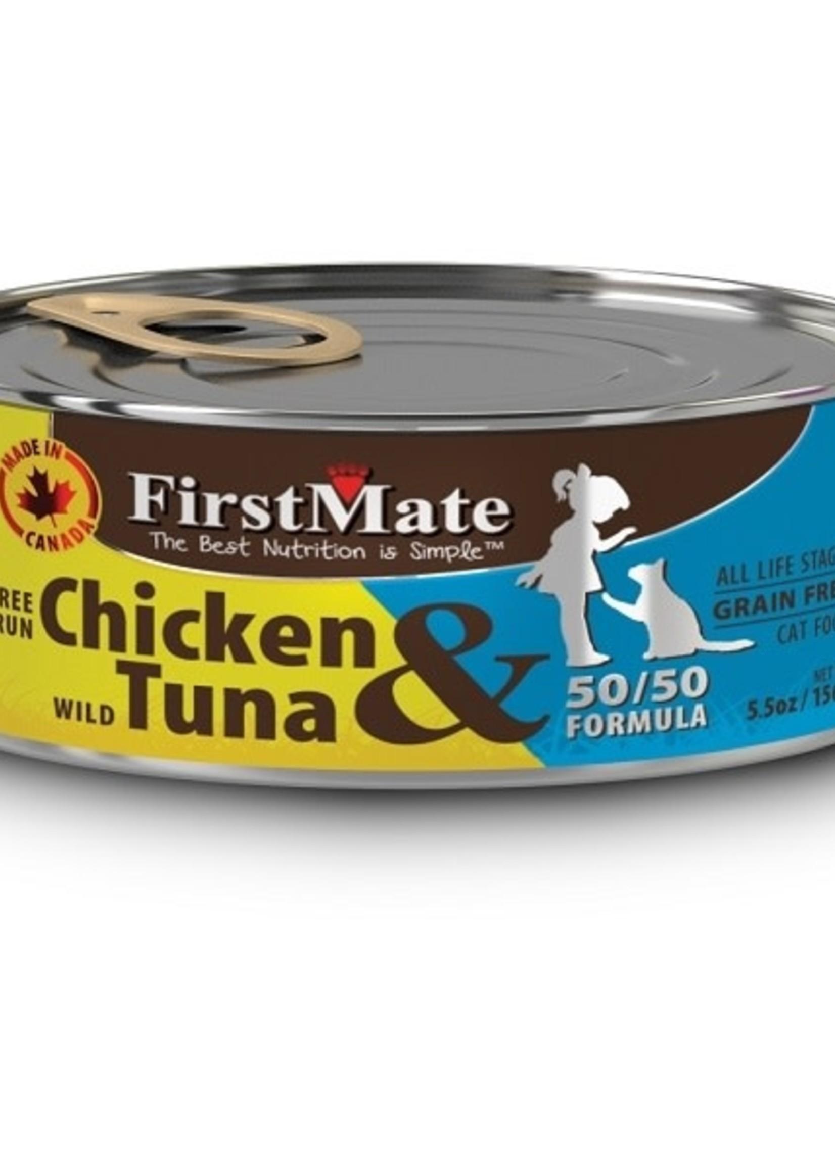 First Mate Free-Run Chicken/ Wild Tuna CAT