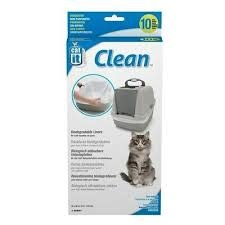 Catit Biodegradable Liner for Jumbo Cat Pan, 10-pack-1