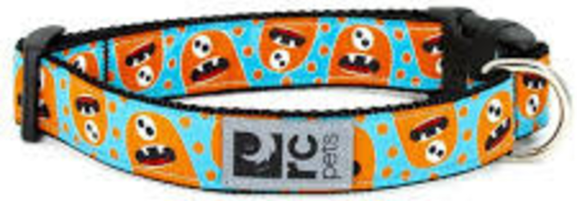 """Clip Collar Small 3/4"""" Hangry Monster"""