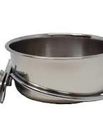 SS Dish w/ Clamp 10oz