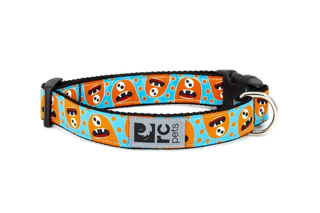 "Clip Collar Medium 1"" Hangry Monster-1"