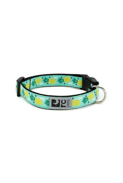 "Clip Collar Medium 1"" Pineapple Parade"