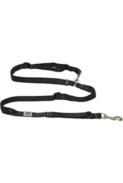 "CE Beyond Control Leash 1"" Black"