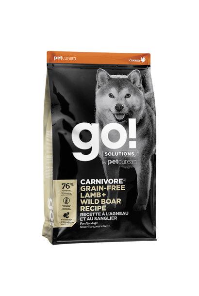GO! Carnivore GF Lamb & Wild Boar 22LB