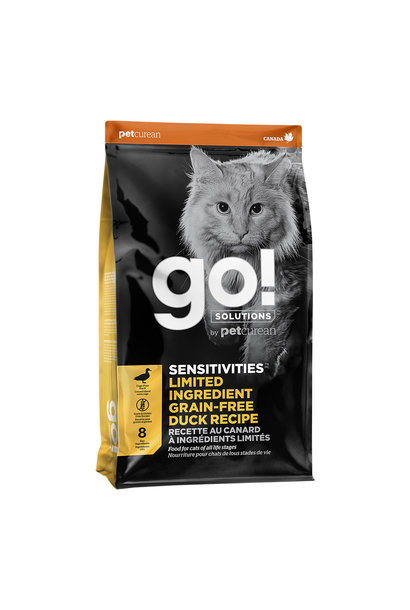 Go! Sensitivities LID Duck Cat Food