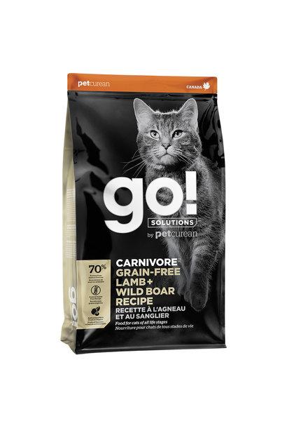 GO! Carnivore GF Lamb & Wild Boar 8LB Cat