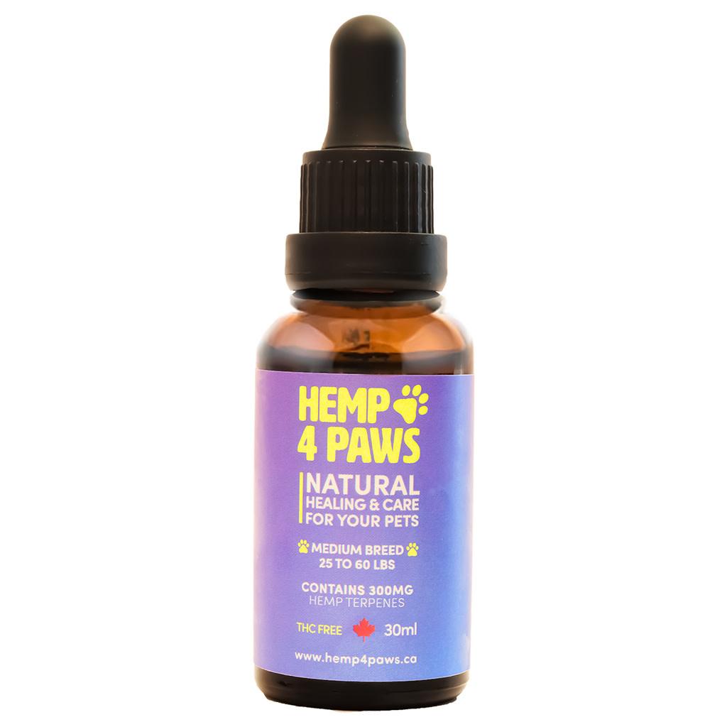 Hemp 4 Paws - Medium Breed 300mg-30ml-1