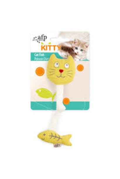 All For Paws Cat Fish Toy
