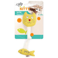 All For Paws Cat Fish Toy-1