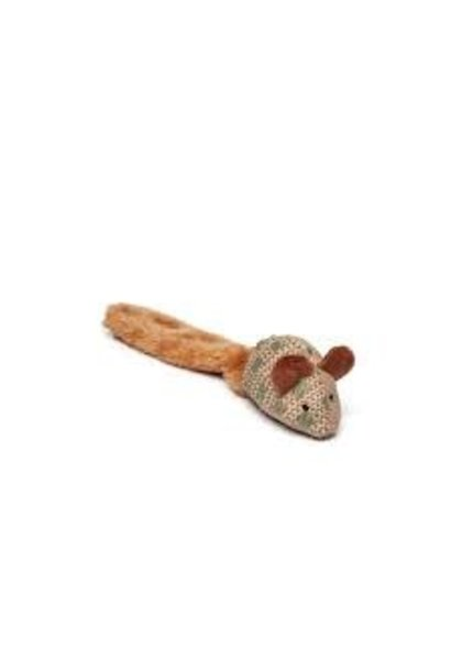 "Budz Cat Toy Mouse with Giant 12"" Tail"