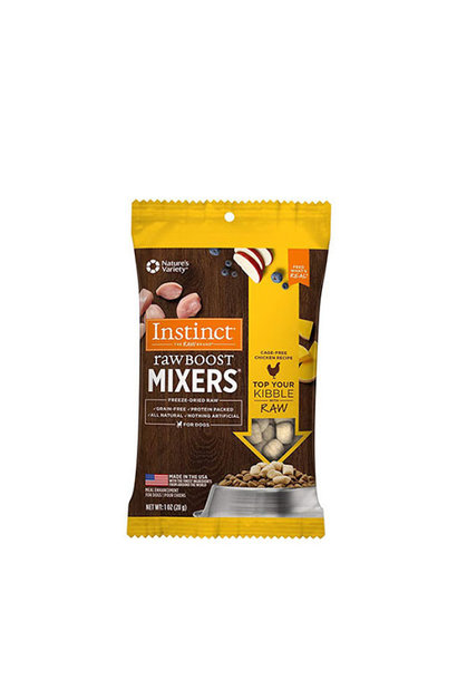 Instinct Raw Boost Mixers -Chicken 28g
