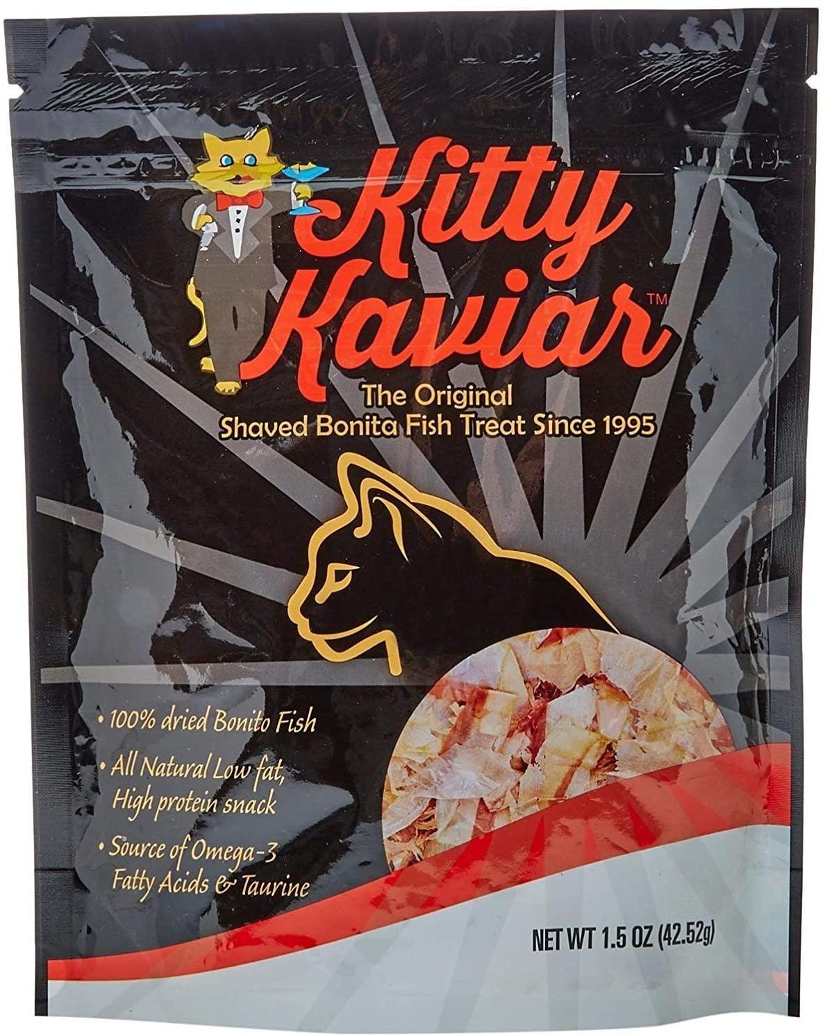Kitty Kaviar Bonito Flakes 1.0oz-1